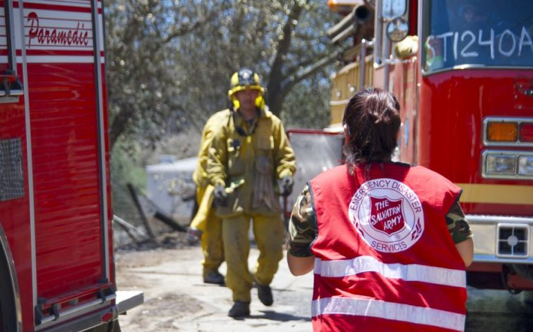 The Salvation Army Joins Large-scale Disaster Exercise for Sixth Year