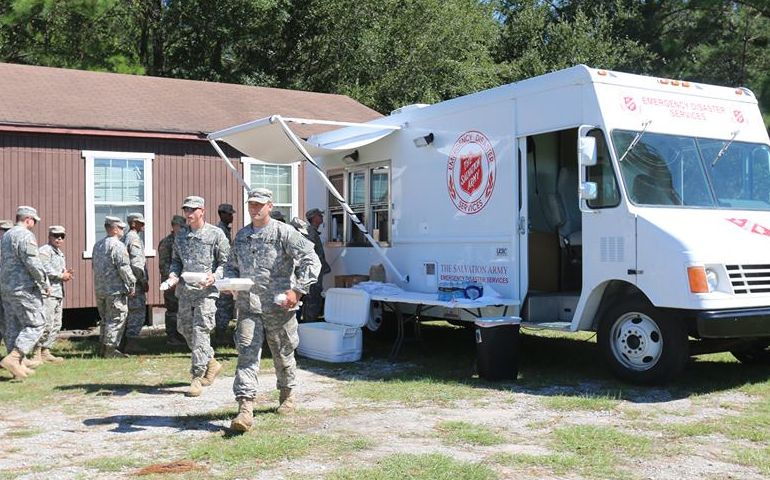 The Salvation Army Elberton Crew Brings Relief to Savannah