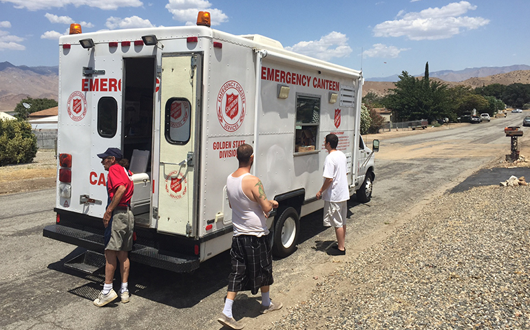 Salvation Army Support Continues in California at Erskine Fire