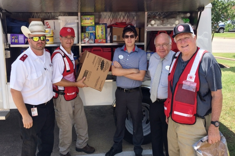 Multiple County Response Ongoing For The Salvation Army in Texas