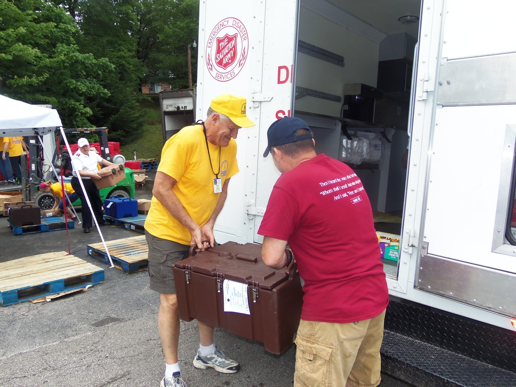 The Salvation Army Serves With Partners in West Virginia