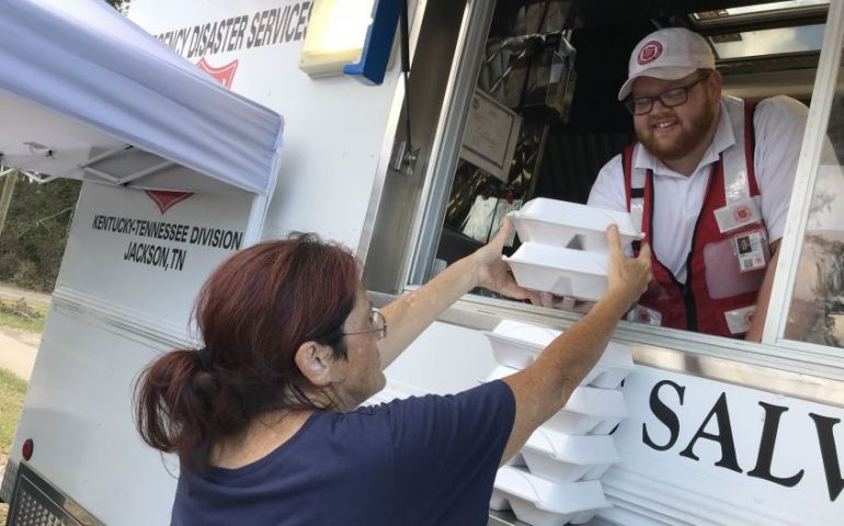 The Salvation Army Provides Services for Displaced Families in Chattahoochee, FL