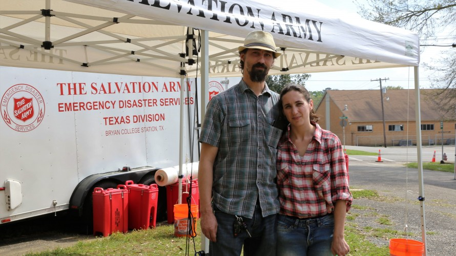 Southeast Texas Flood Evacuees Overwhelmed by The Salvation Army's Support