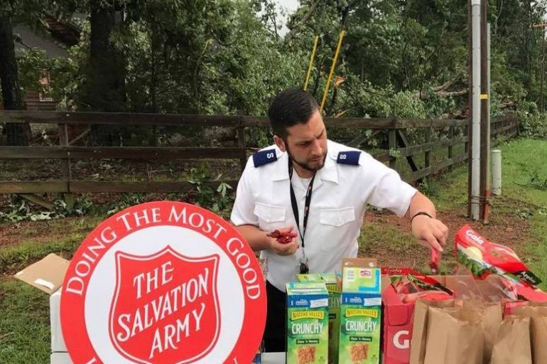 Salvation Army Responding to Tornado Damage in Statesville North Carolina