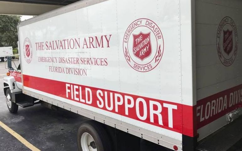 """The Cavalry is Coming"" Florida Salvation Army Responds with Teams, Equipment"
