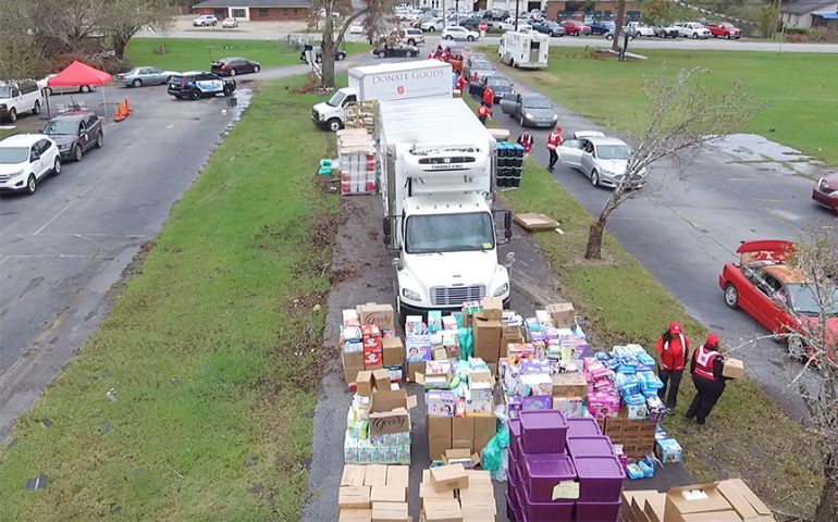 Emergency Disaster Service Teams Focus on Bulk Distribution in Georgia