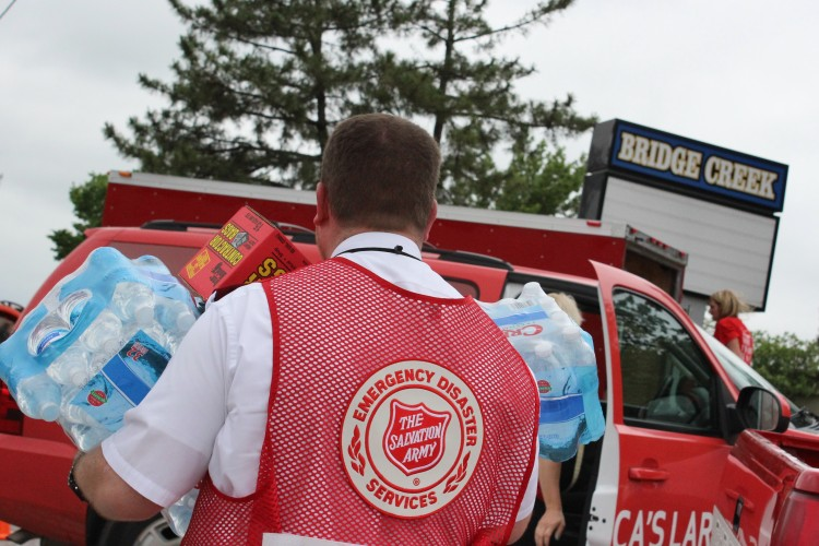 The Salvation Army Serves Following Storms in Central Oklahoma
