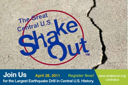 Are You Ready to ShakeOut On April 28, 2011?