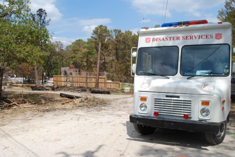 Texas Wildfire Survivors Still Served By Salvation Army