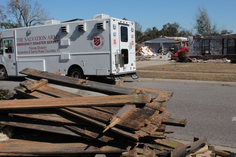 The Salvation Army Keeps Hope Alive Despite Devastating Tornado