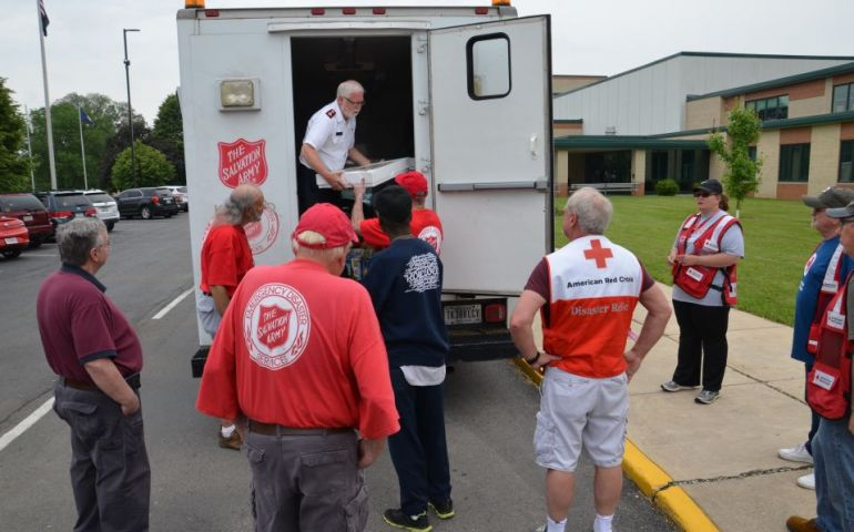 Salvation Army Aiding Pendleton, Indiana Community After Memorial Day Tornado