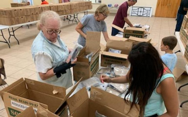 Salvation Army in Palm Beach Continues Preparations with Aid of Local Partners