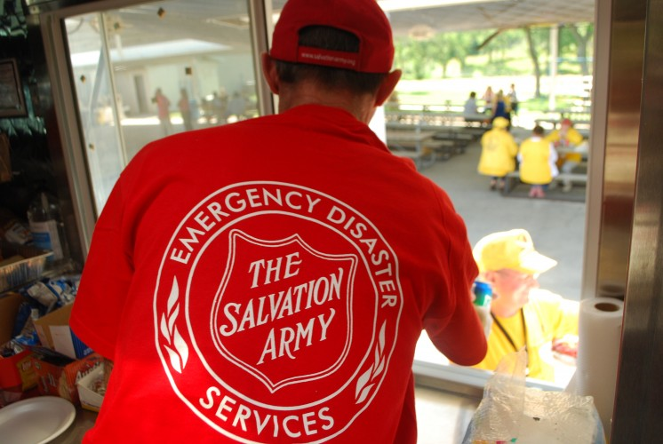 Texas Salvation Army Providing Shelter, Meals and Emotional and Spiritual Care