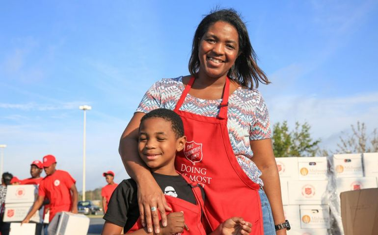 Katrina Survivors Give Back with The Salvation Army