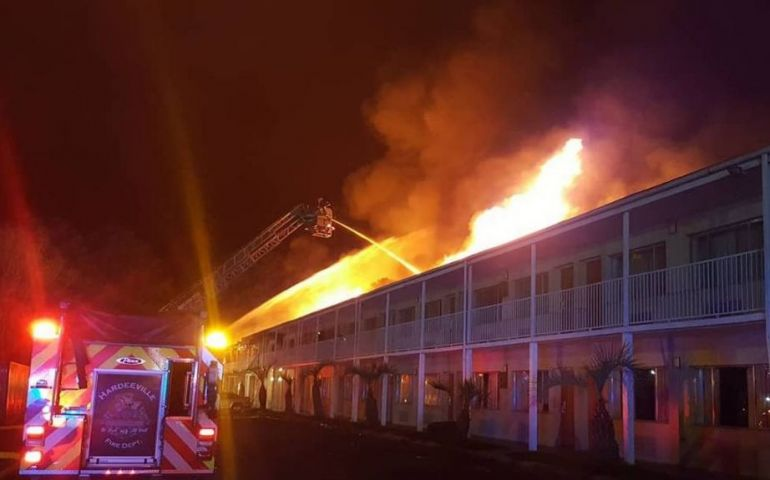 Salvation Army Providing Temporary Housing to People Displaced by South Carolina Hotel Fire