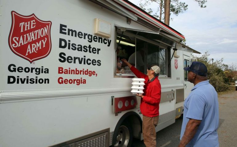 The Salvation Army Helps Those Impacted by South GA Tornados