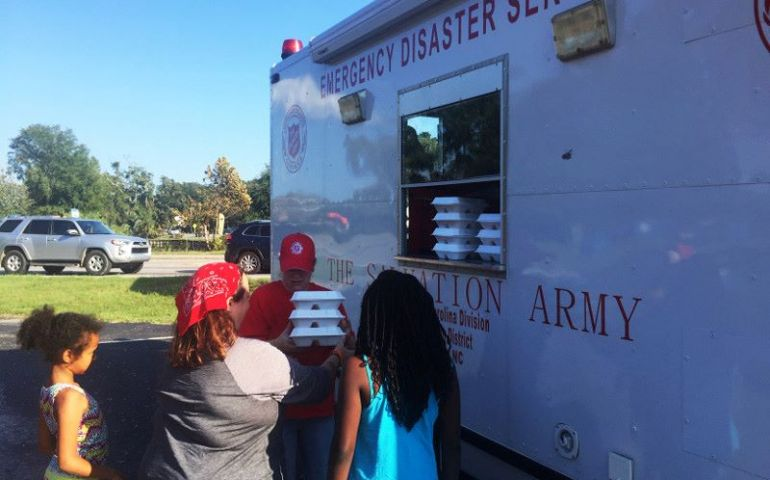 Salvation Army Carolinas Serving Meals to Communities Impacted by Dorian