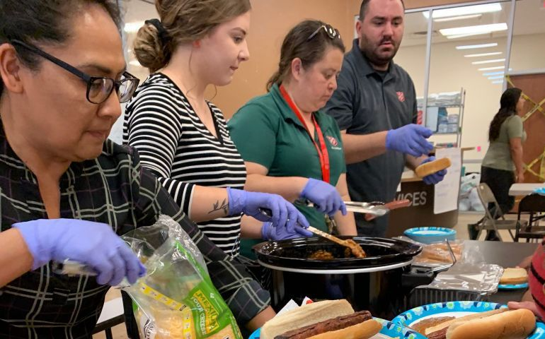 The Salvation Army Yuma Providing Humanitarian Aid to Migrant Families