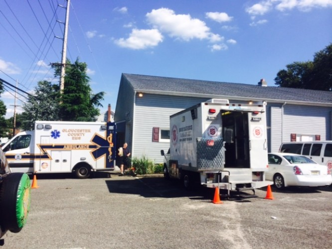 The Salvation Army Emergency Disaster Services Team Responds to Severe Storms in South Jersey