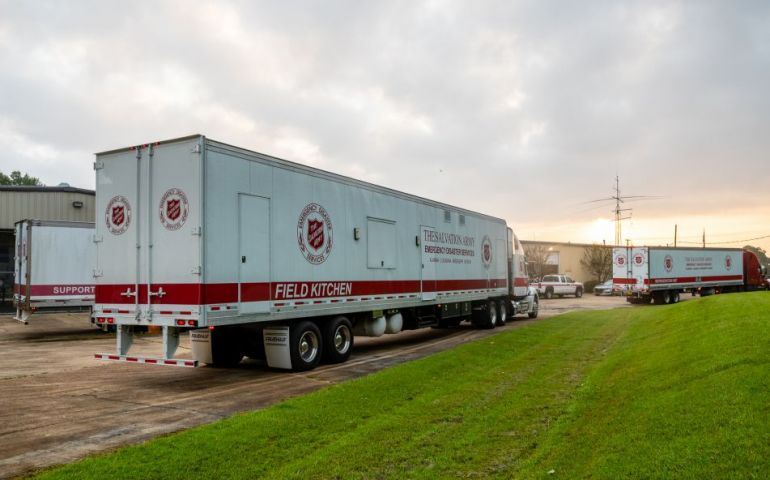 Salvation Army Field Kitchen Heads to Lake Charles for Hurricane Laura Relief