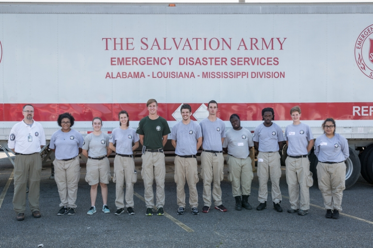 AmeriCorps' Serves Relentlessly with The Salvation Army in Baton Rouge, LA