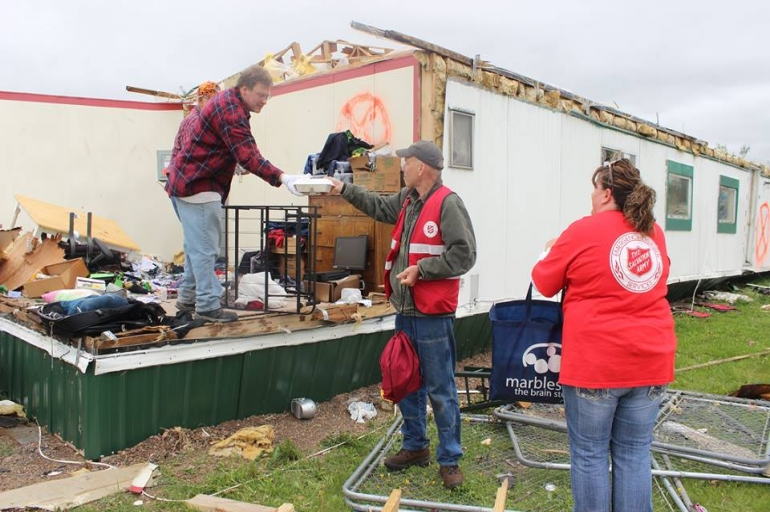 Wisconsin Salvation Army Serves 1000th Meal in Chetek Since Tornado Touched Down