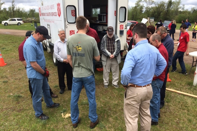 Wisconsin Salvation Army Continues to Serve in Aftermath of Chetek Tornado