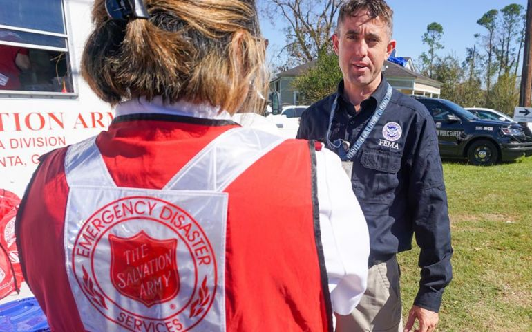 The Salvation Army Partners with FEMA in Georgia