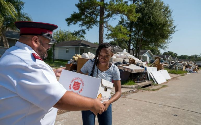The Salvation Army Marks One-Year Anniversary of Hurricane Harvey