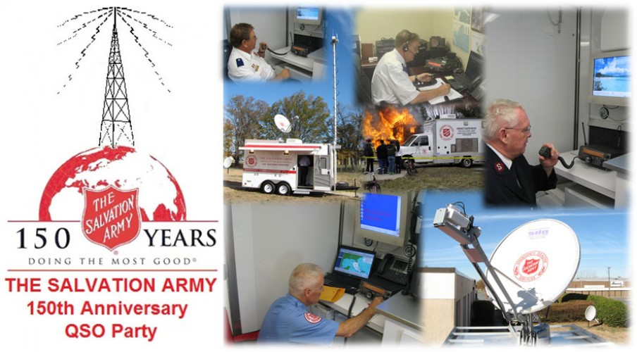 SATERN QSO Party To Celebrate 150th Anniversary of The Salvation Army