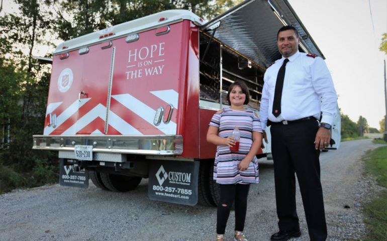 Salvation Army Officers Ready as Disaster Response Teams Prepare for Hurricane Laura Response