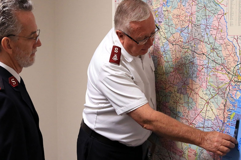 The Salvation Army of Georgia Prepares for Hurricane Matthew