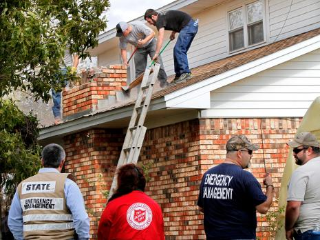 Salvation Army Conducts Damage Assessment After Oklahoma Earthquake
