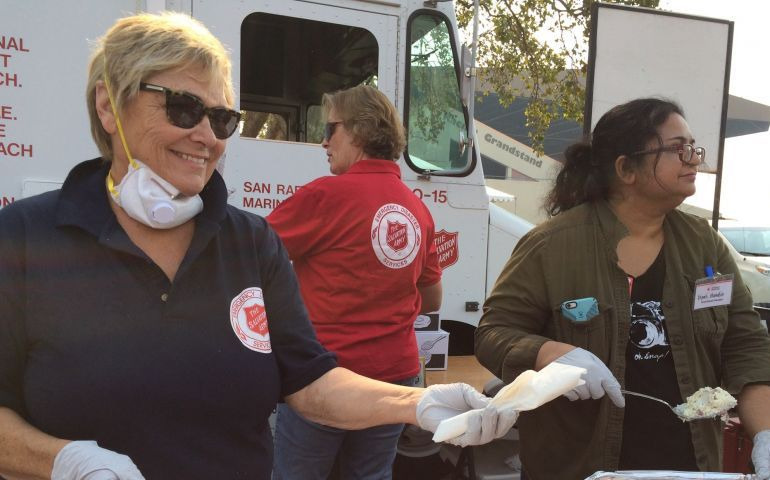 Salvation Army Feeding Assistance Continues after Northern California Wildfires