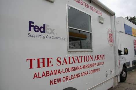 The Salvation Army Preparing to Respond to Tropical Depression