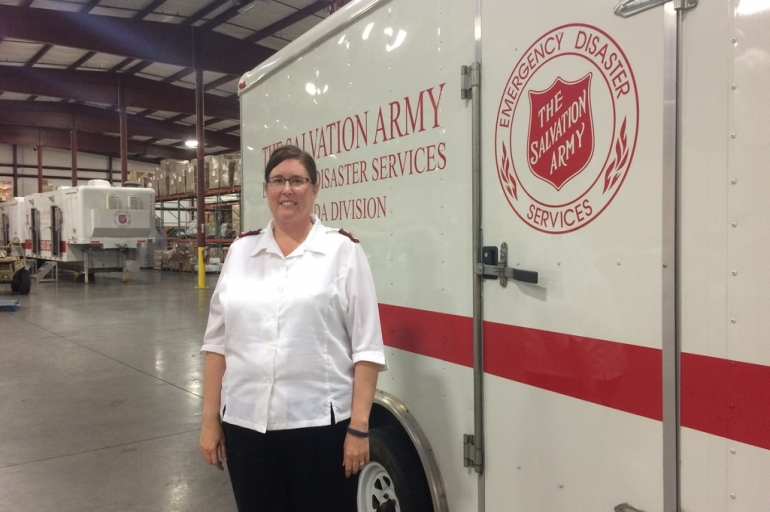 The Salvation Army's Ministry of Presence in Disaster Response